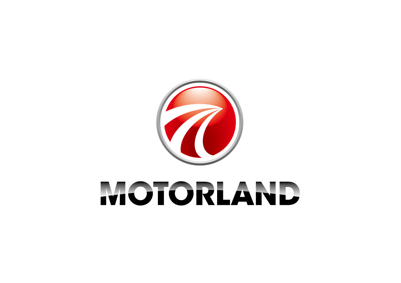 MOTORLAND logo mark design