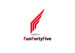 FunFortyFive logo mark design