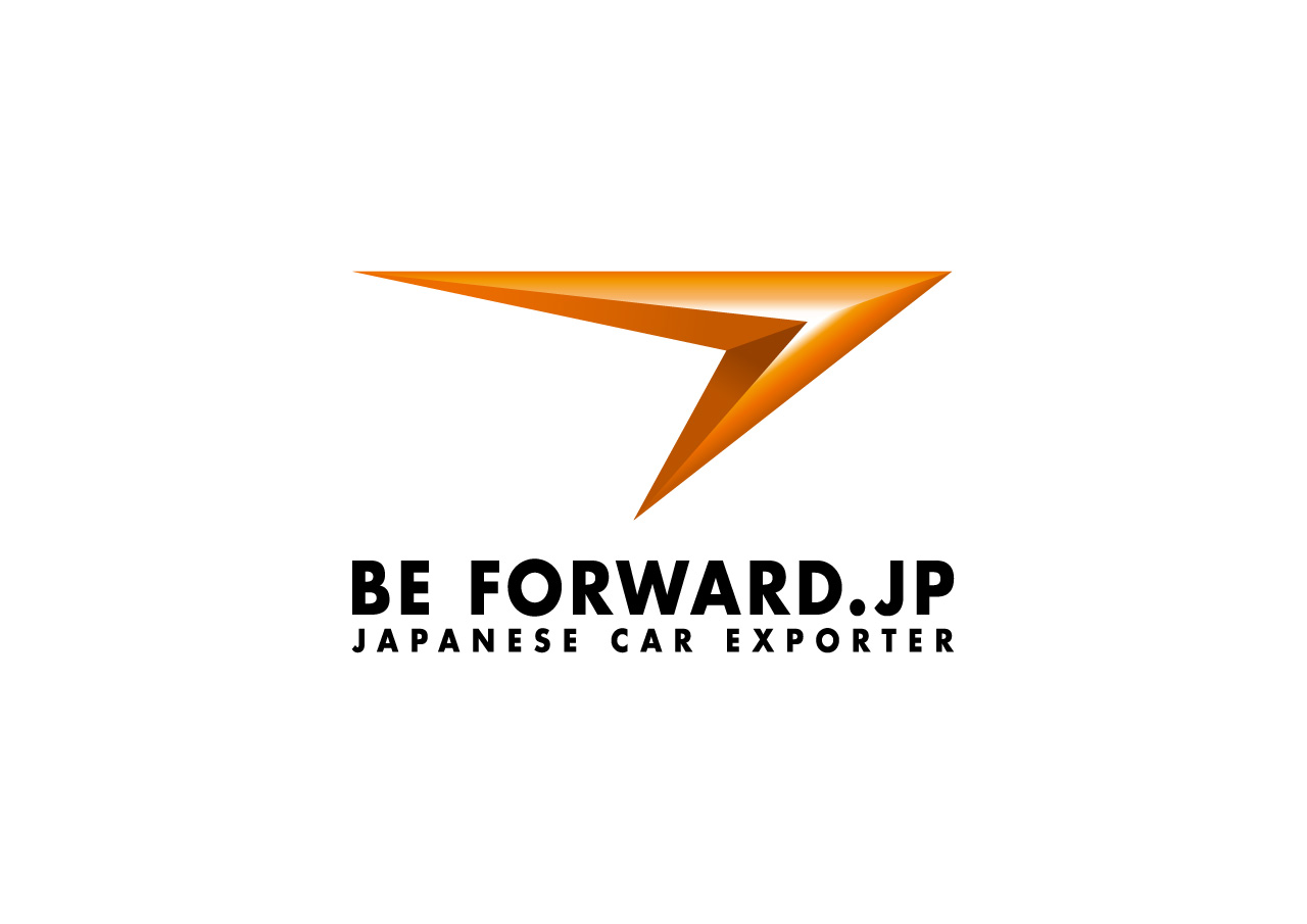 BE FORWARD logo mark design