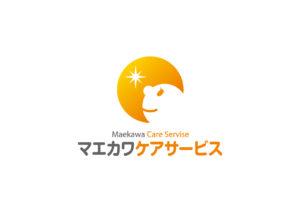 マエカワケアサービス logo mark design