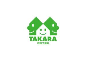 株式会社宝工務店 logo mark design