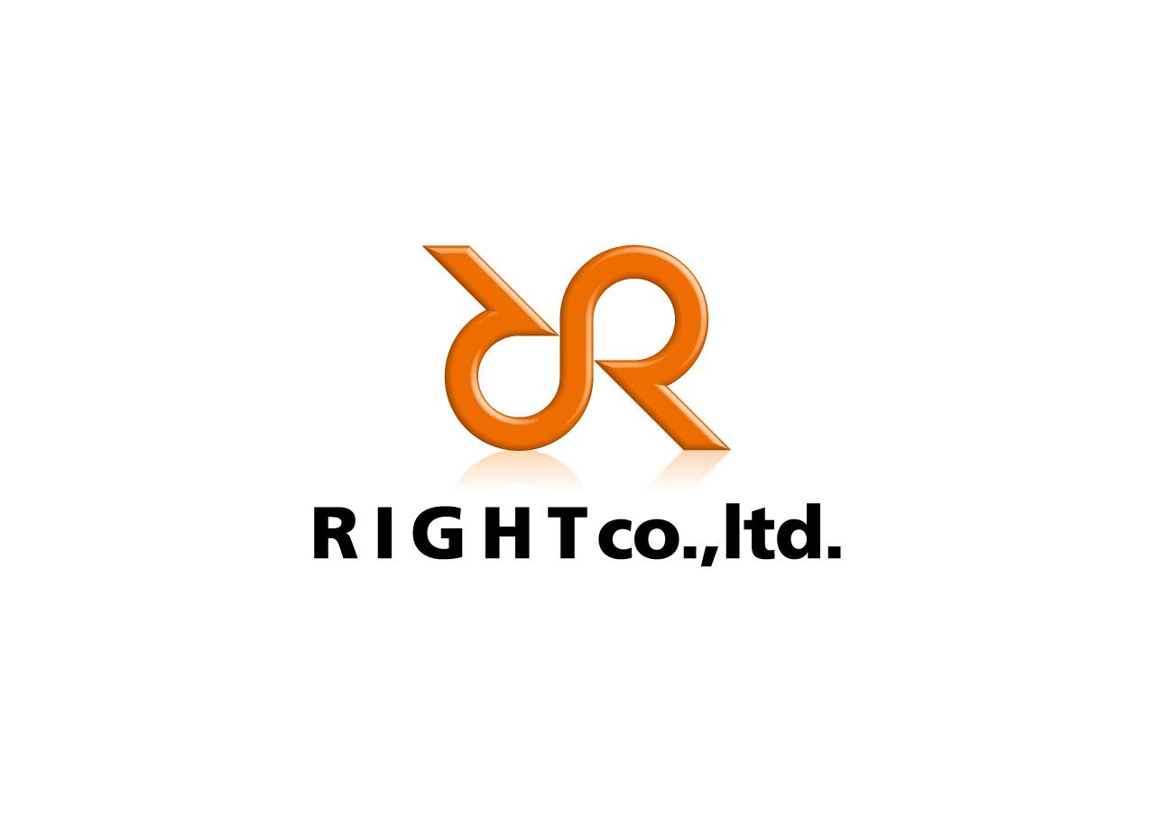RIGHT CO.,LTD. ロゴマークデザイン