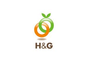 H&G logo mark design