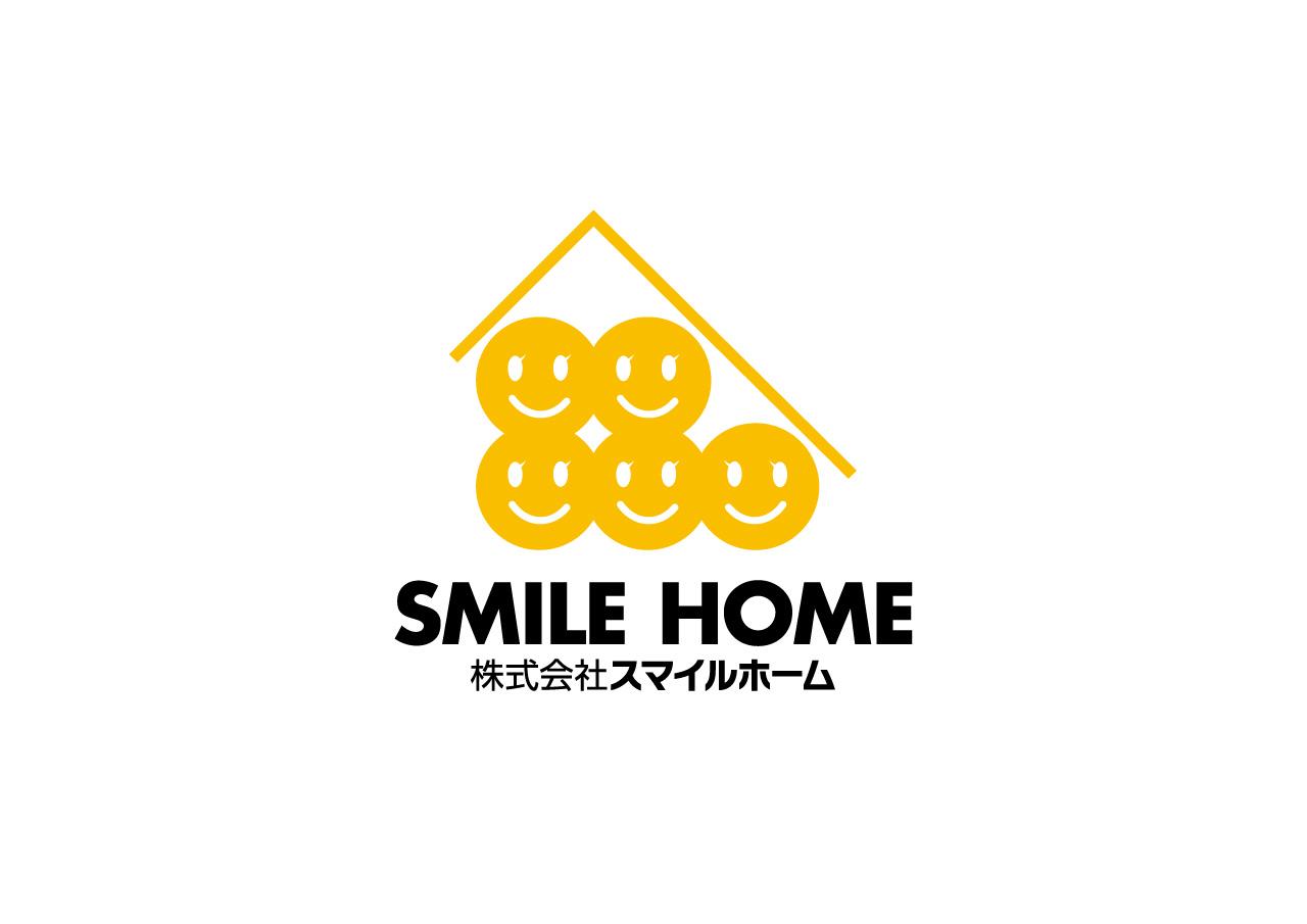 Smile Home Co., Ltd. logo mark design
