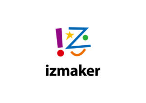 izmaker logo mark design