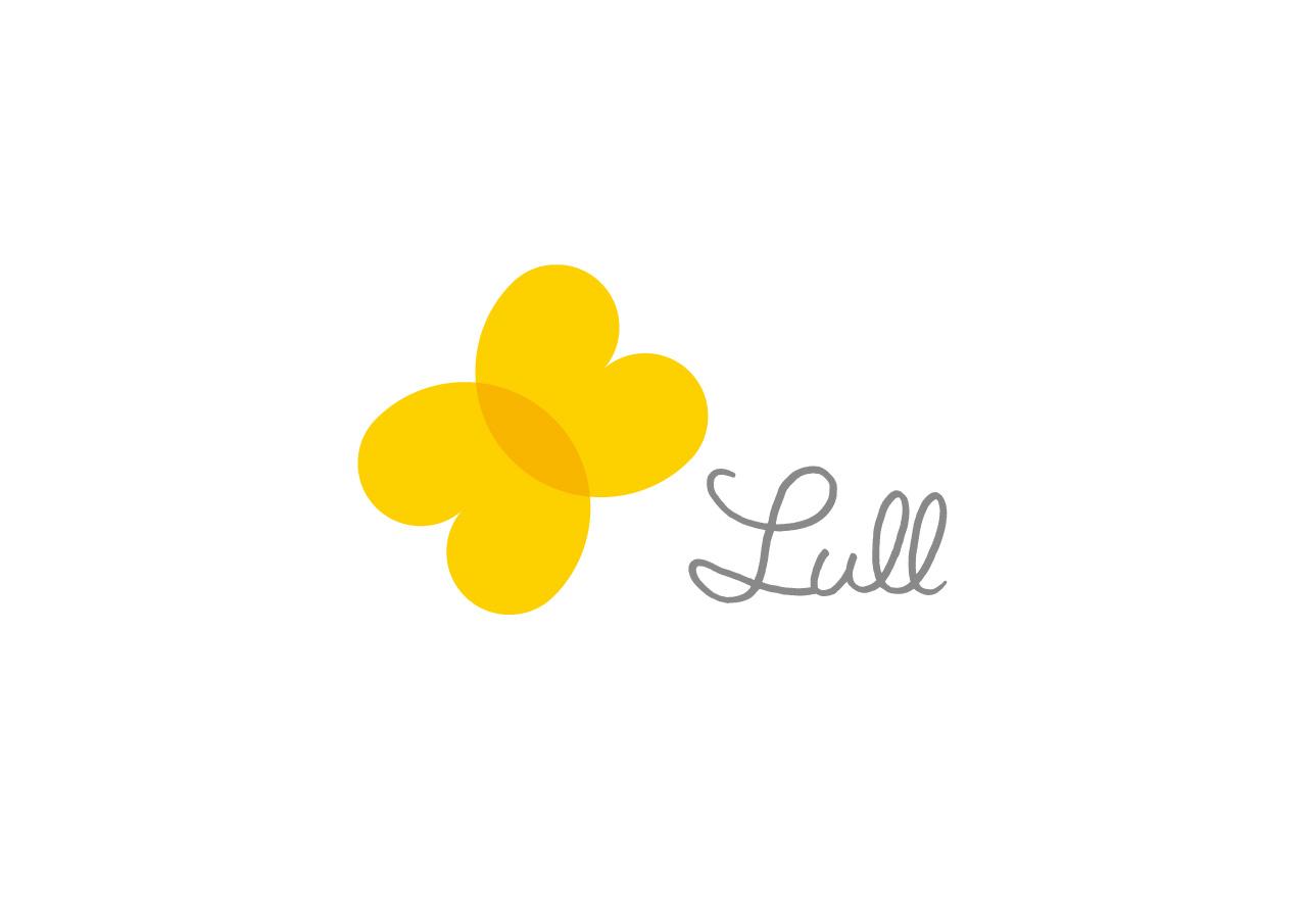 Lull logo mark design