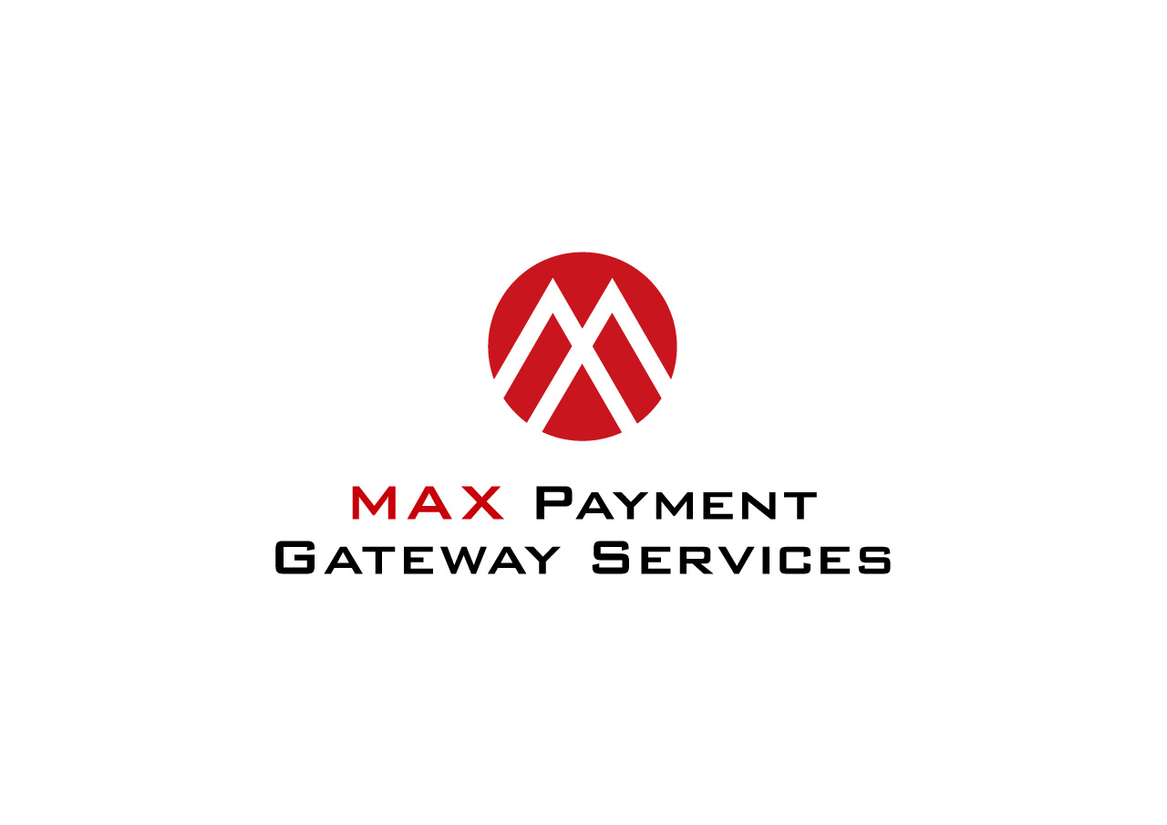 MAX Payment Gateway Services logo mark design