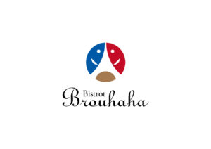 Bistrot Brouhaha logo mark design