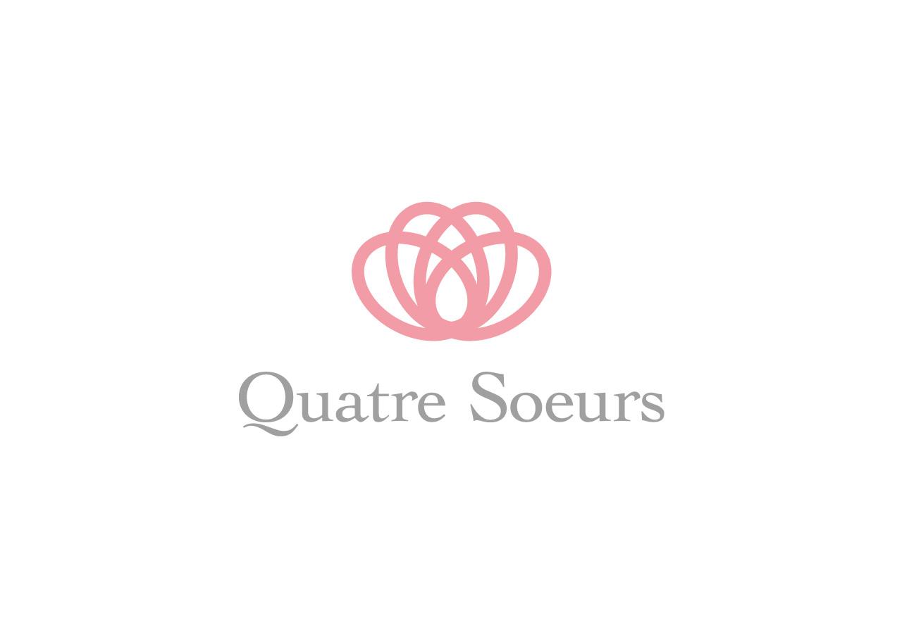 Quatre Soeurs logo mark design