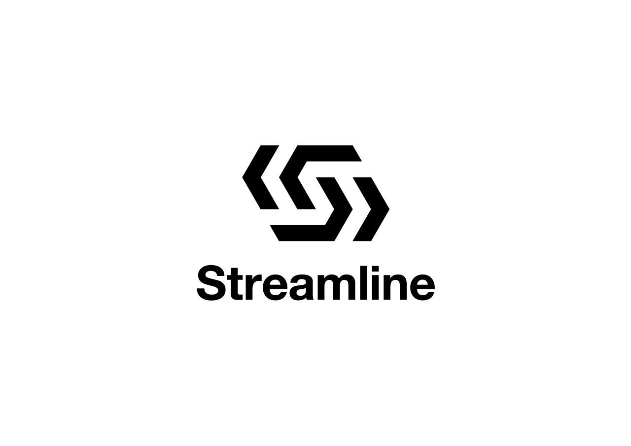 Streamline logo mark design