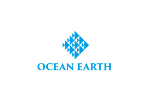 ocean earth logo mark design