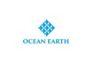 OCEAN EARTH ロゴマークデザイン
