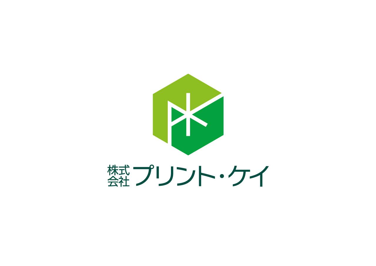 株式会社プリント・ケイ ロゴマークデザイン