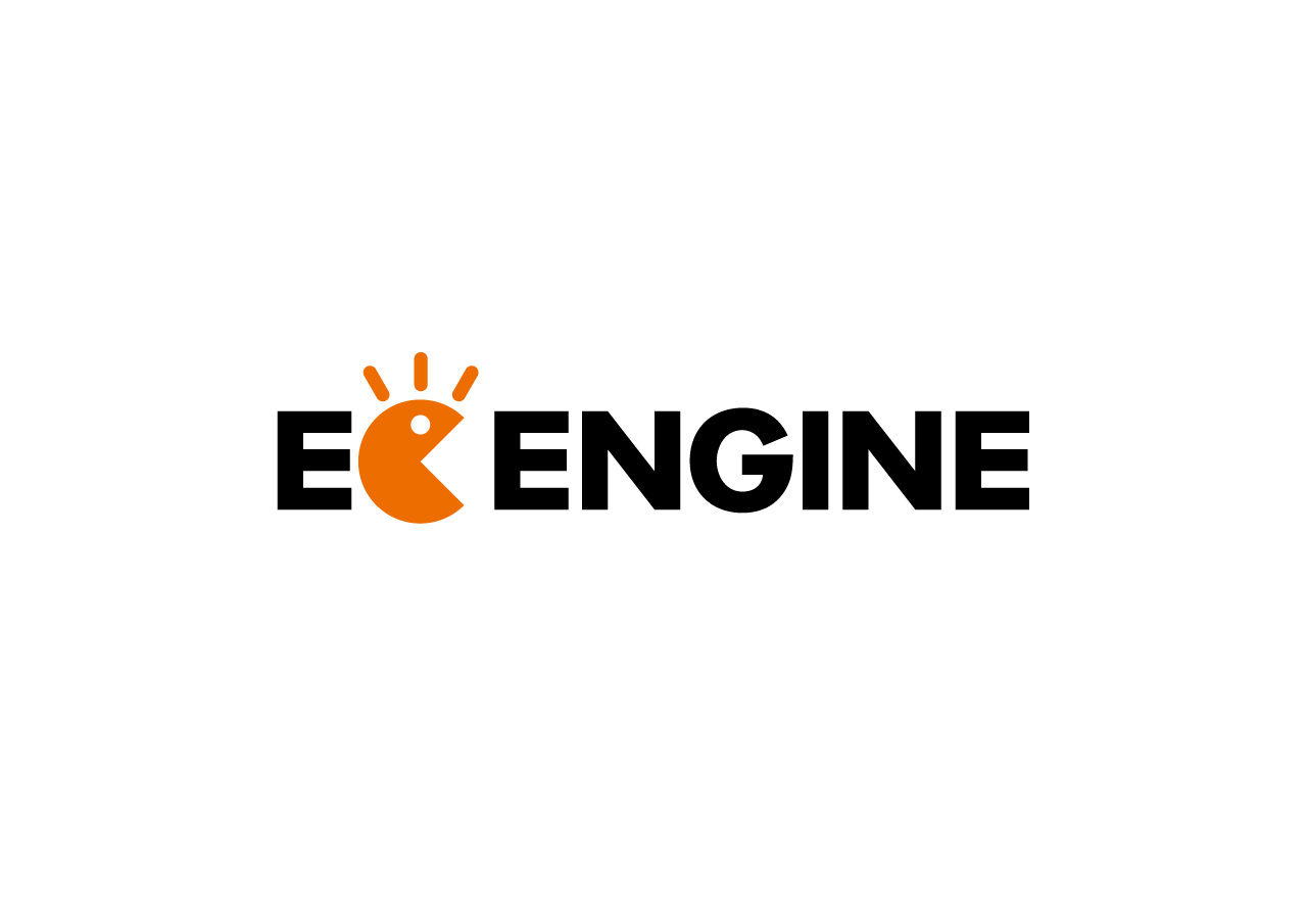 ec-engine logo mark design