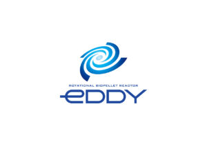 eDDY logo mark design