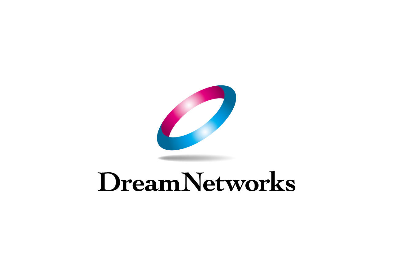 株式会社DreamNetworks logo mark design