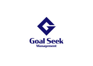 goal seek management logo mark design