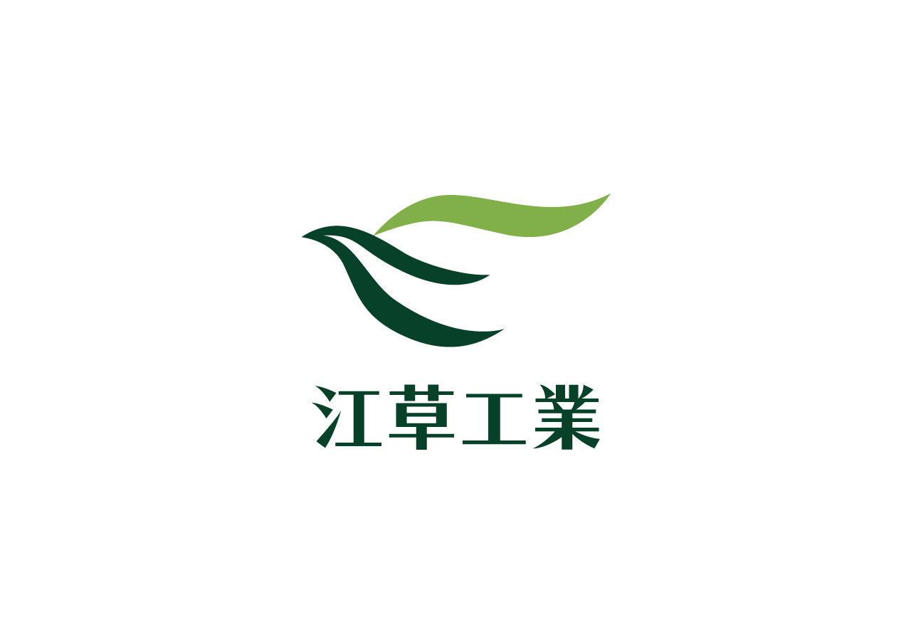 Egusa Industry Co., Ltd. logo mark design