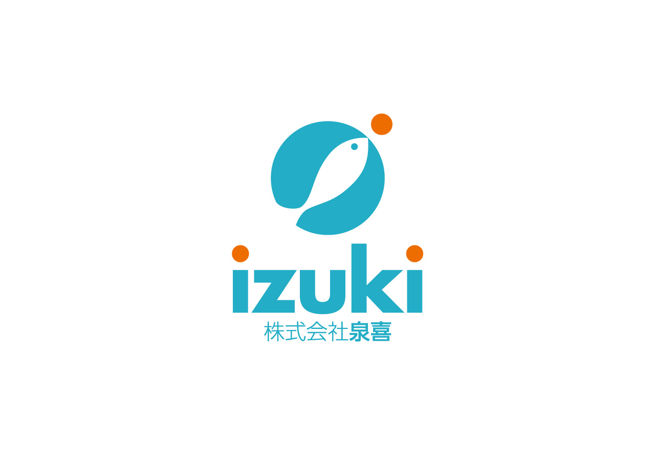 izuki logo mark design